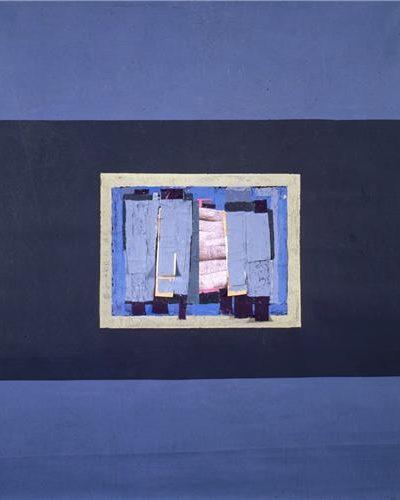 Fon Bezi Üzerine Akrilik 1.48x98cm, 1997