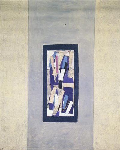 Fon Bezi Üzerine Akrilik 1.54x94cm, 1997