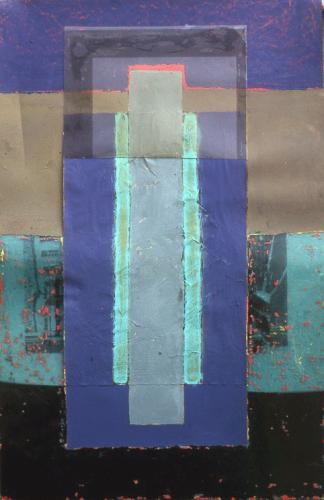 Asetat Üzerine Akrilik Pleksi Kutuda, 1999