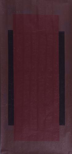 Asetat Üzerine Akrilik Pleksi Kutuda 152x71cm, 2000