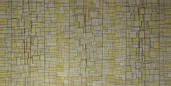 Kağıt Üzerine Karışık Teknik 91x176cm, 2006
