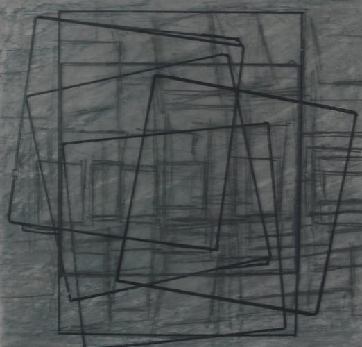 Kağıt Üzerine Karışık Teknik 20x20cm, 2007