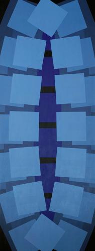 Tuval Üzerine Akrilik 185x70cm, 2012