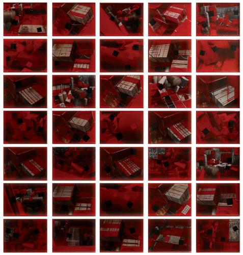 Karışık Teknik Pleksi Kutuda 155x145cm,2013