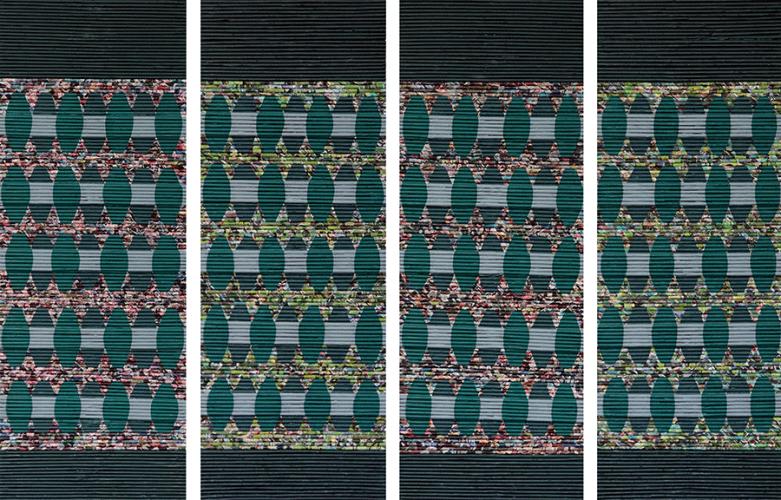 Karışık Teknik 161.5x61cm, 2016