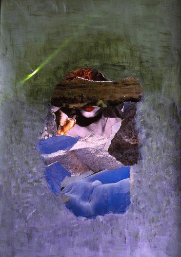 Kağıt Üzerine Kolaj 35x50cm, 1994