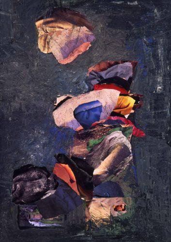 Kağıt Üzerine Kolaj 50x70cm, 1995